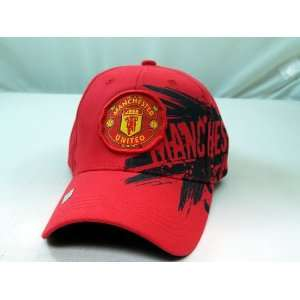 FC MANCHESTER UNITED OFFICIAL TEAM LOGO CAP / HAT   MU013