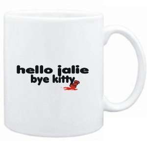 Mug White  Hello Jalie bye kitty  Female Names Sports