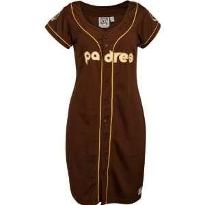 San Diego Padres Womens Jersey Dress