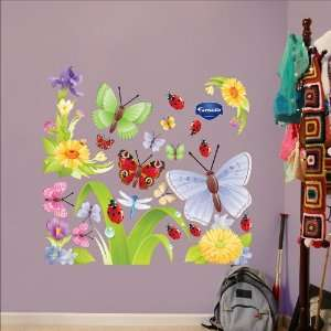 Fathead Butterflies Group Two Wall Graphic