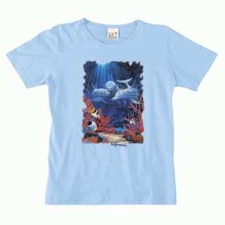 Tropical Fish Van Raemdonck Womens LAT T Shirt S,M,L,XL,2X,3X Marine