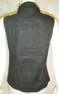 NWT Kathy Lee Black Pants Top 2pc Set Sleeveless Sz 12