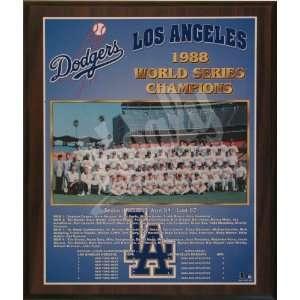 1988 Los Angeles Dodgers Major League Baseball World Series