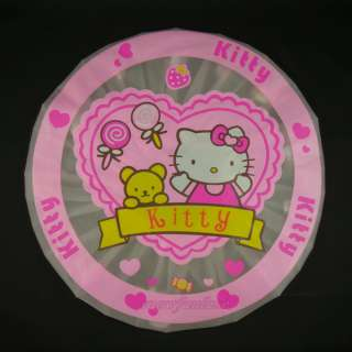 HELLO KITTY Shower Cap bathroom ladies kids adult QX