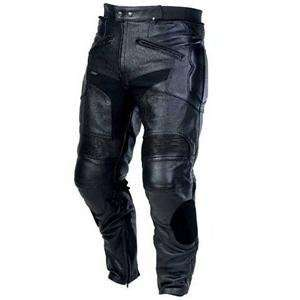 Master Womens Apex Perforated Leather Pants   Large/Black Automotive