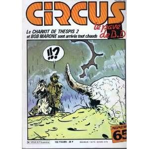 Glena circus N°65 le chario de espis 2 e bob marone son arrives