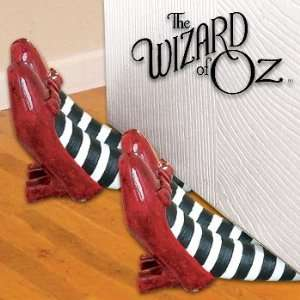 The wizard of oz ruby slippers charm bead european styl - Wizard of oz doorstop ...