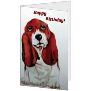 Birthday Boy Nephew Son Her Niece Puppy Quality Greeting Card (5x7) by