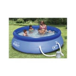 10 x 30 Summer Escapes Quick Set Pool with Pump Patio, Lawn & Garden