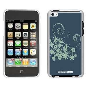 Green Grunge on iPod Touch 4 Gumdrop Air Shell Case