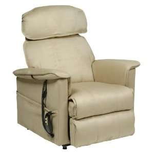Electric Motorized Lift and Recline Chair, Khaki Health & Personal
