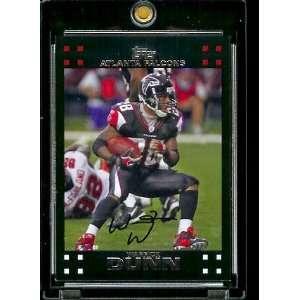 Warrick Dunn   Atlanta Falcons   NFL Trading Cards