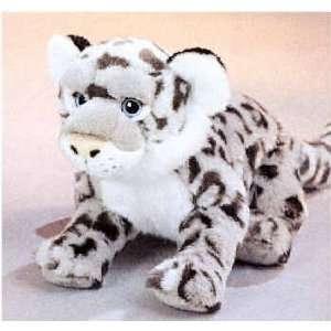 Plush Snow Leopard 12 Toys & Games