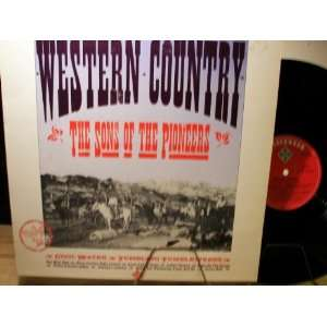 western country (GRANITE 1007  LP vinyl record) SONS OF