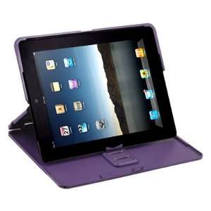 Purple Ultra thin Multi angle Hard Cover Case Stand for