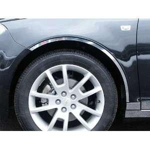 2008 2011 Chevy Malibu 4pc Wheel Well / Fender Trim   Cut