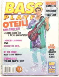 Bass player magazines are tougher to find than most of what we sell