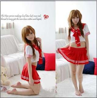 Japanese Japan School Girl Uniform Cosplay Costume NEW 015