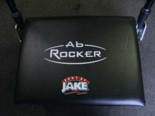 JAKE AB ROCKER 5 MINUTE AB MACHINE w/ 10 DAY PROGRAM KIT VIDEO & BOOKS