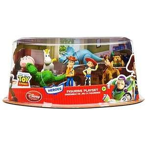 Toy Story 3 Heroes Figure Play Set    8 Pc.