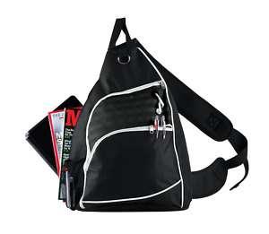 college sling shoulder ipad tablet netbook backpack