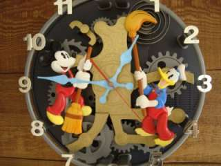 VINTAGE DISNEY MICKEY MOUSE GOOFY DONALD DUCK ANIMATED TALKING WALL