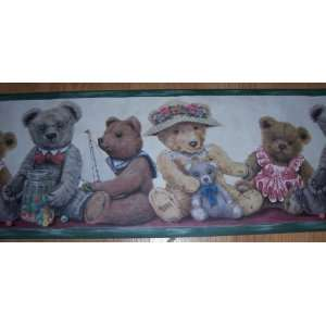 Teddy Bear Wallpaper Border: Home & Kitchen