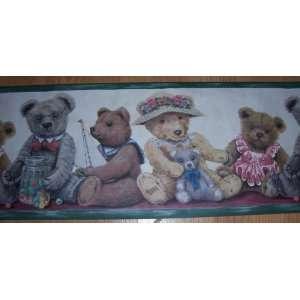 Teddy Bear Wallpaper Border: Home & Kitchen
