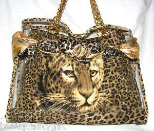 REVOLUTION LEOPARD ANIMAL PRINT HOBO,BAG,TOTE NEW