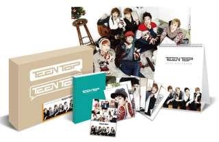 Teen Top 2012 SEASON GREETING ( Calendar+Diary+Sticker+Poster+Post