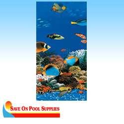 24 Round Caribbean Aboveground Overlap Swimming Pool Liner 20 Mil