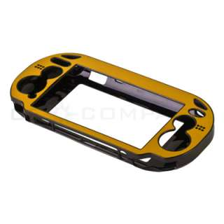 Hard Case Cover + LCD Film Guard + Ball Head Headset For Sony PS Vita