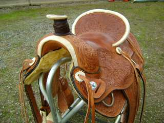 HEAVY DUTY HIGH GRADE PORTER 16 WESTERN WADE LEATHER HORSE ROPING