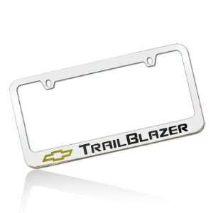 Chevy Trailblazer Chrome Brass License Plate Frame