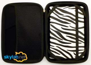 Zipper Pouch Sleeve For BN Nook Color Hard BLACK Cover Case EVA Style