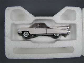 EL DORADO Cadillac Convertible FRANKLIN MINT Model Car