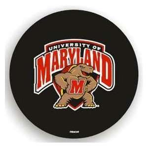 Maryland Terrapins Black Spare Tire Cover Automotive