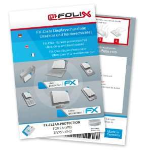 FX Clear Invisible screen protector for Easypix DVX5530HD / DVX