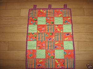 FASHION INSPIRED~HANDMADE~QUILT~CANDLE MAT~WALL HANGING