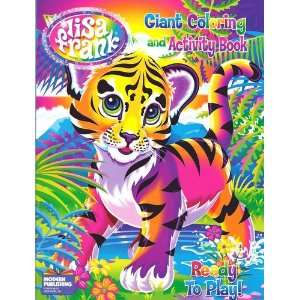 Lisa Frank Giant Coloring & Activity Book ~ Ready to Play