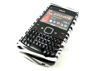 FOR NOKIA X2 X2 01 WHITE BLACK ZEBRA HARD COVER CASE