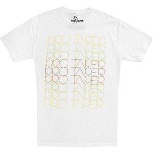 Pro Taper Fade T Shirt   Medium/White: Automotive