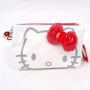 Hand Cosmetic Bag Makeup Case Pouch Pencil Case White Toys & Games