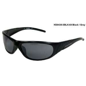 Harley Davidson HD0438 Sunglasses Black/Gray Lens Sports & Outdoors