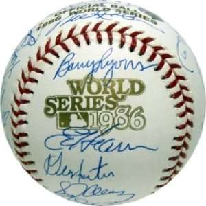 New York Mets Team Signed World Series Baseball