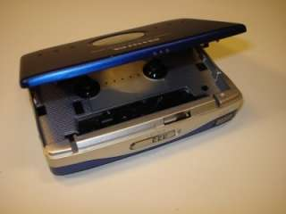 VINTAGE AIWA PX380 BLUE PORTABLE CASSETTE PLAYER REPAIR