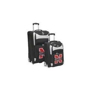Nebraska Cornhuskers NCAA Two Piece Luggage Set