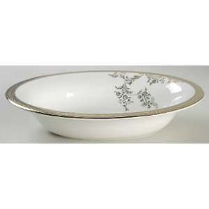 Wedgwood Vera Lace Gold 9 Oval Vegetable Bowl, Fine China