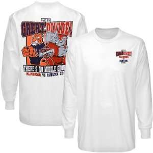 Alabama Crimson Tide vs. Auburn Tigers White 2009 Great