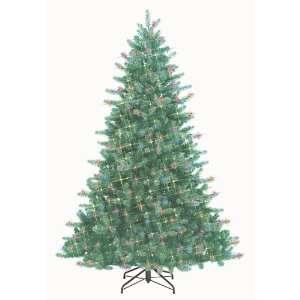 7 Just Cut Douglas Fir Pre Lit Artificial Christmas Tree